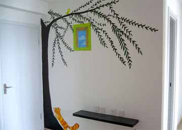 广州手绘墙-广州白云区室内设计培训